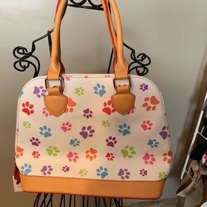Handbags - Cute bag with paw prints ❤️